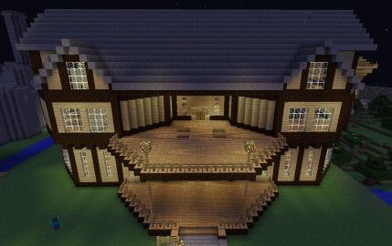 Modern Mansion... IN MINECRAFT!