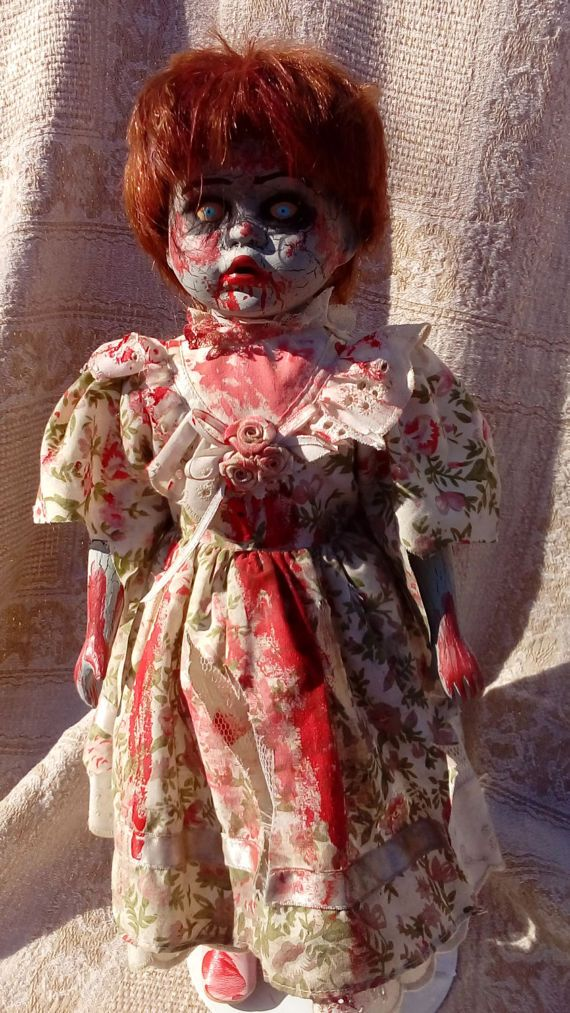 Creepy Zombie Walking Dead Doll  Kaitlin