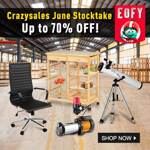 Crazysales June Stocktake: Up to 70% OFF!