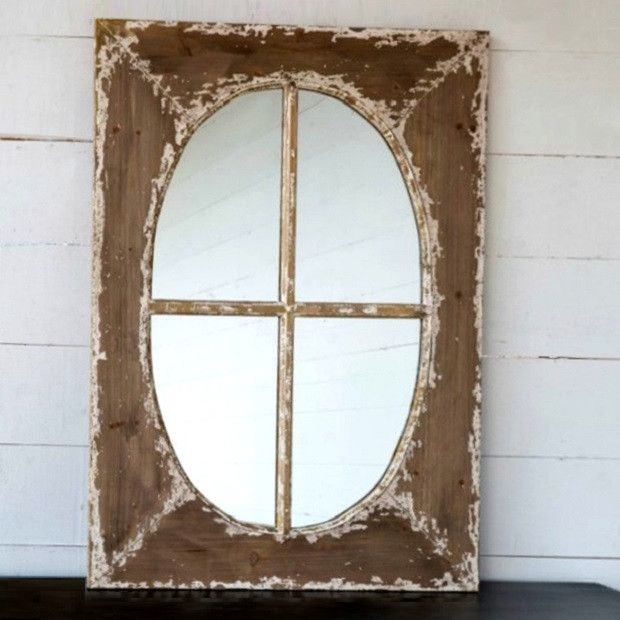 Rustic Window Frame Mirror Favorites At Antique Farm House