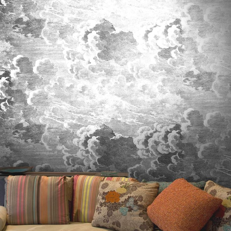 Cole son for Cloud wallpaper mural