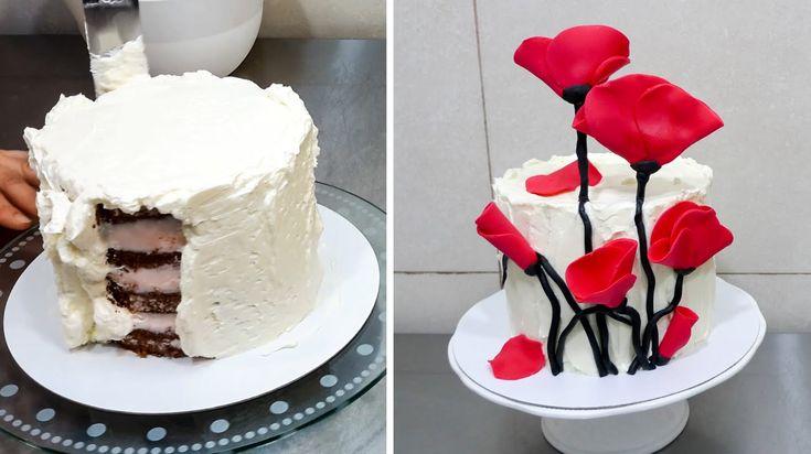 Easy Chocolate Decoration Cake By Cakes Stepbystep