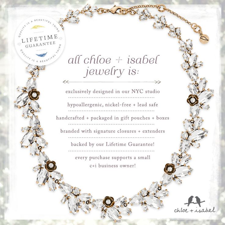Did you know this about Chloe + Isabel??!   #lisasciboutique www.lisasciboutique.com #chloeandisabel #girlboss