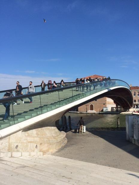 Puente Constitución, Venecia. Inaugurado en 2008
