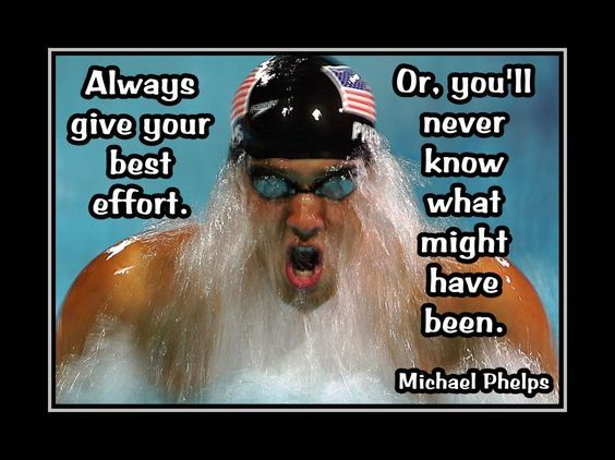 the best swimmer quotes | Swimming Motivation Michael Phelps Swimmer Photo Quote Swim Poster ...