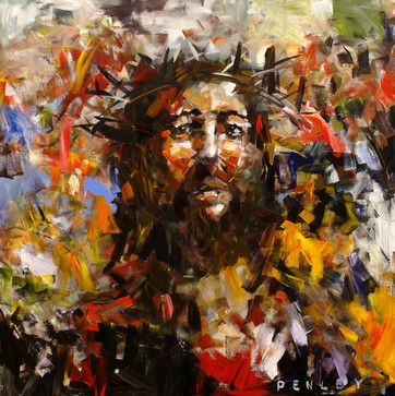 Jesus Christ - modern - artwork - other metro - Penley Art Company