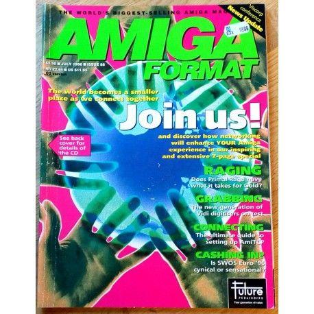 Amiga Format: 1996 - July - Join us!