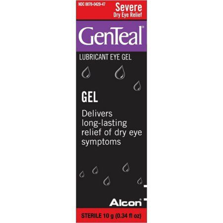 GenTeal+Severe+Dry+Eye+Relief+Lubricant+Eye+Gel+10+mL