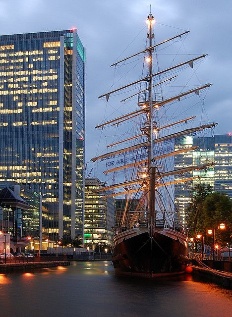 The Golden Hinde, Canary Wharf, London