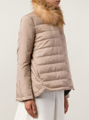 Brunello Cucinelli Puffer Jacket in Pink
