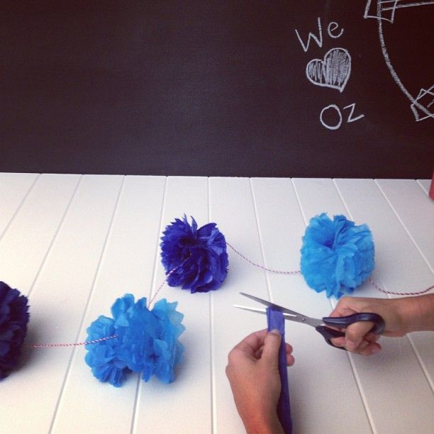 Sneak peek! @Marjorie Sardin Silva's Australia Day styling for The Home.