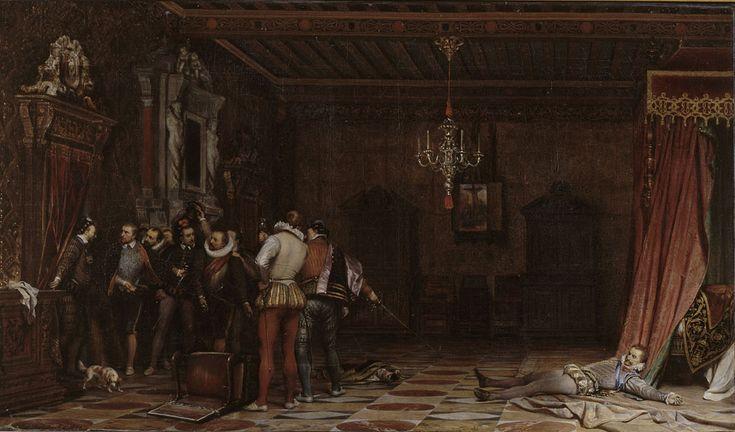 Paul Delaroche, L'assassinat du duc de Guise - Musée Condé, Chantilly