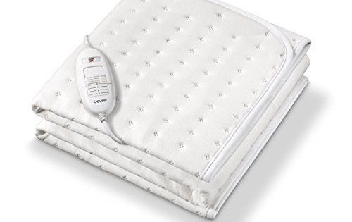 Beurer TS 19-Chauffe-lit surmatelas chauffant 1 place: Chauffe-matelas compact. La sécurité alliée au confort grâce au système de sécurité…