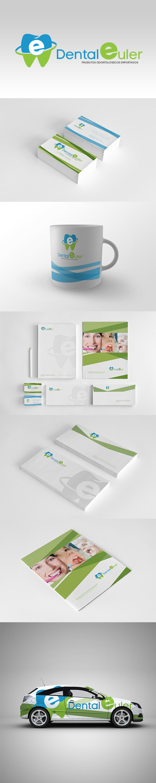 Branding - Dental Euler  Autor Geilson Ferguss - www.ferguss.net
