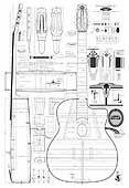 R & F Charle, Orderform, Selmer guitar plan
