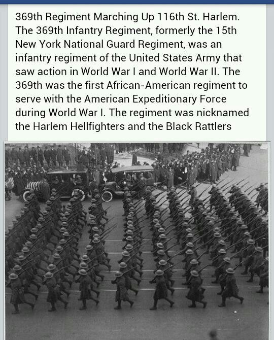 the history and origin of the harlem hellfighters Harlem hellfighters on display for black history month  by 1944 the first  hawaiian naacp was established in honolulu following the war.