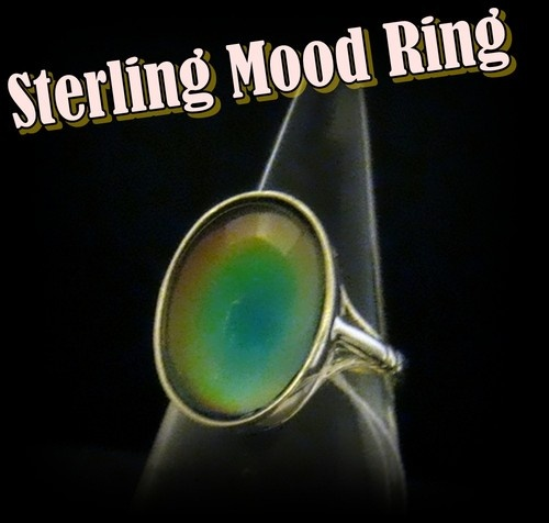 15 Best Images About Sterling Mood Rings On Pinterest