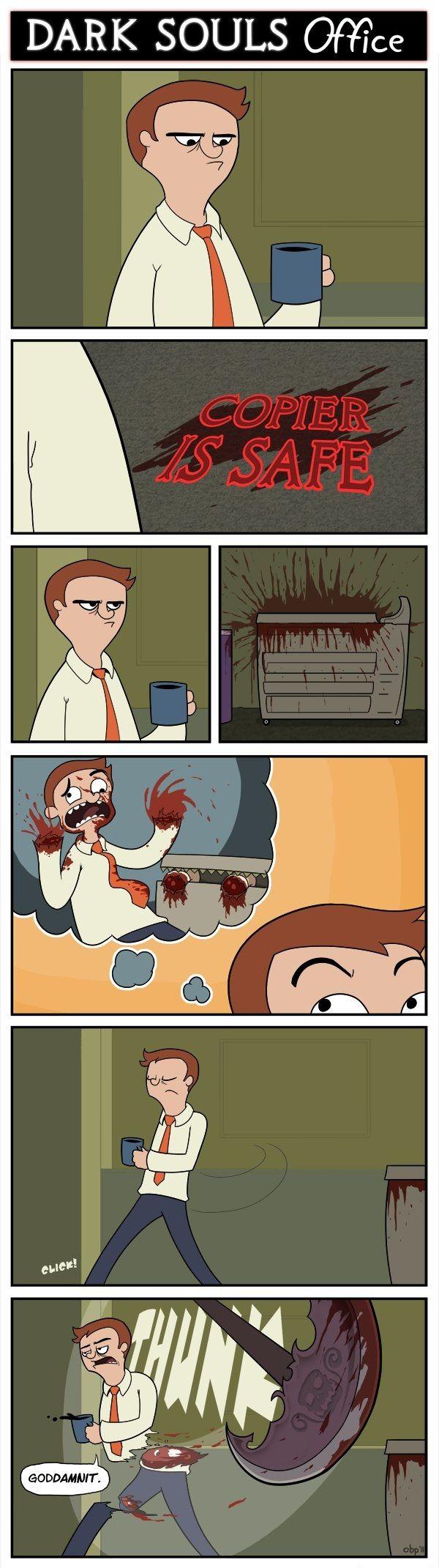 Dark Souls comic: The Office