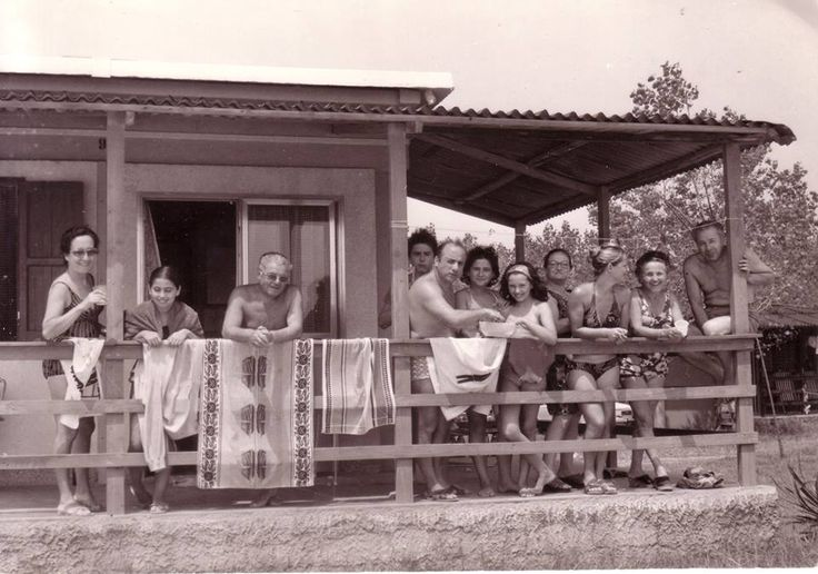 Friends and family, Camping Ca' Savio, 1972