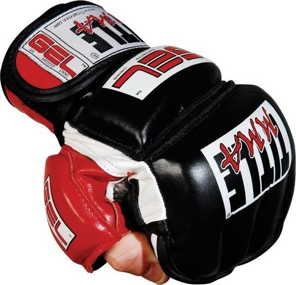 Title MMA Gel Bag Gloves punching mixed martial arts grappling training fight #Title
