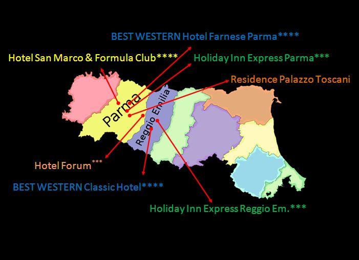 In Emilia Romagna l'ospitalità è sinonimo di Inc Hotels Group!