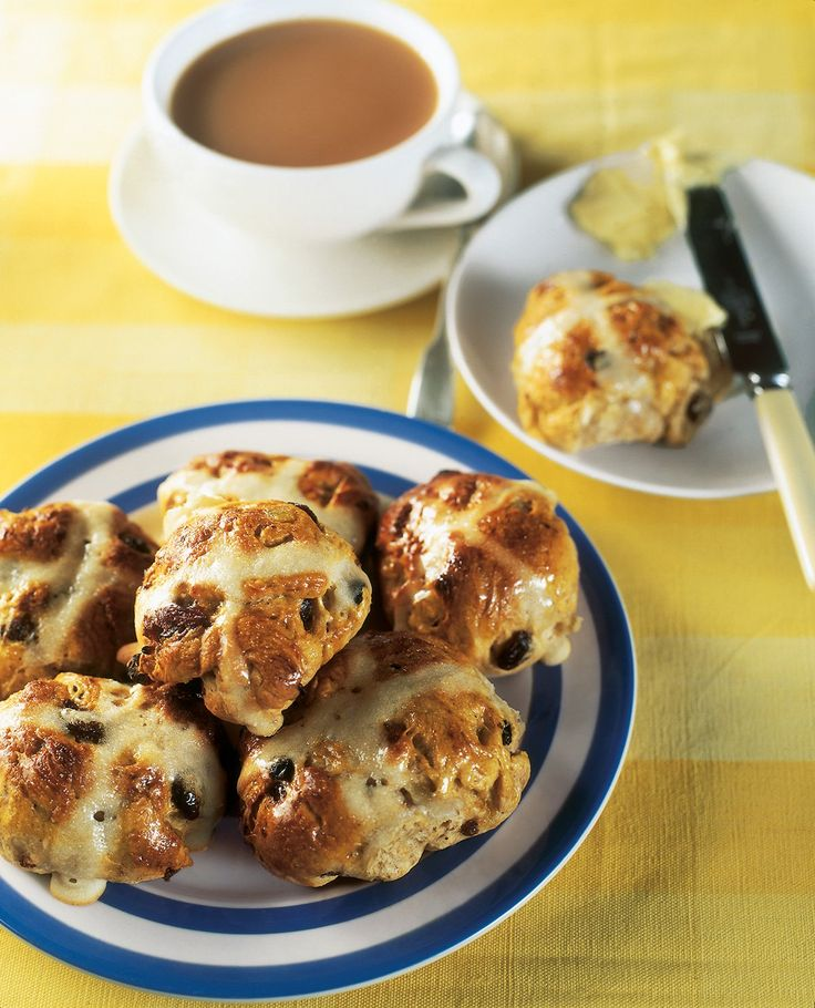 I make my hot cross buns slightly smaller than is traditional. Don't know why, just like them that way.