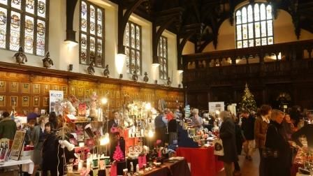 The Hall as the perfect space for a christmassy feel to your event