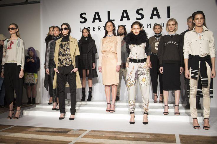 FOUREYES - New Zealand Street Style Fashion Blog: NZFW 2013 - SALASAI