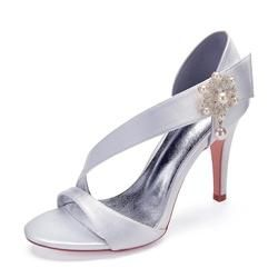 0cf720a5f7d13  AdoreWe  EricDress -  EricDress Ericdress Rhinestone Slip-On Stiletto Heel  Womens Wedding Shoes - AdoreWe.com
