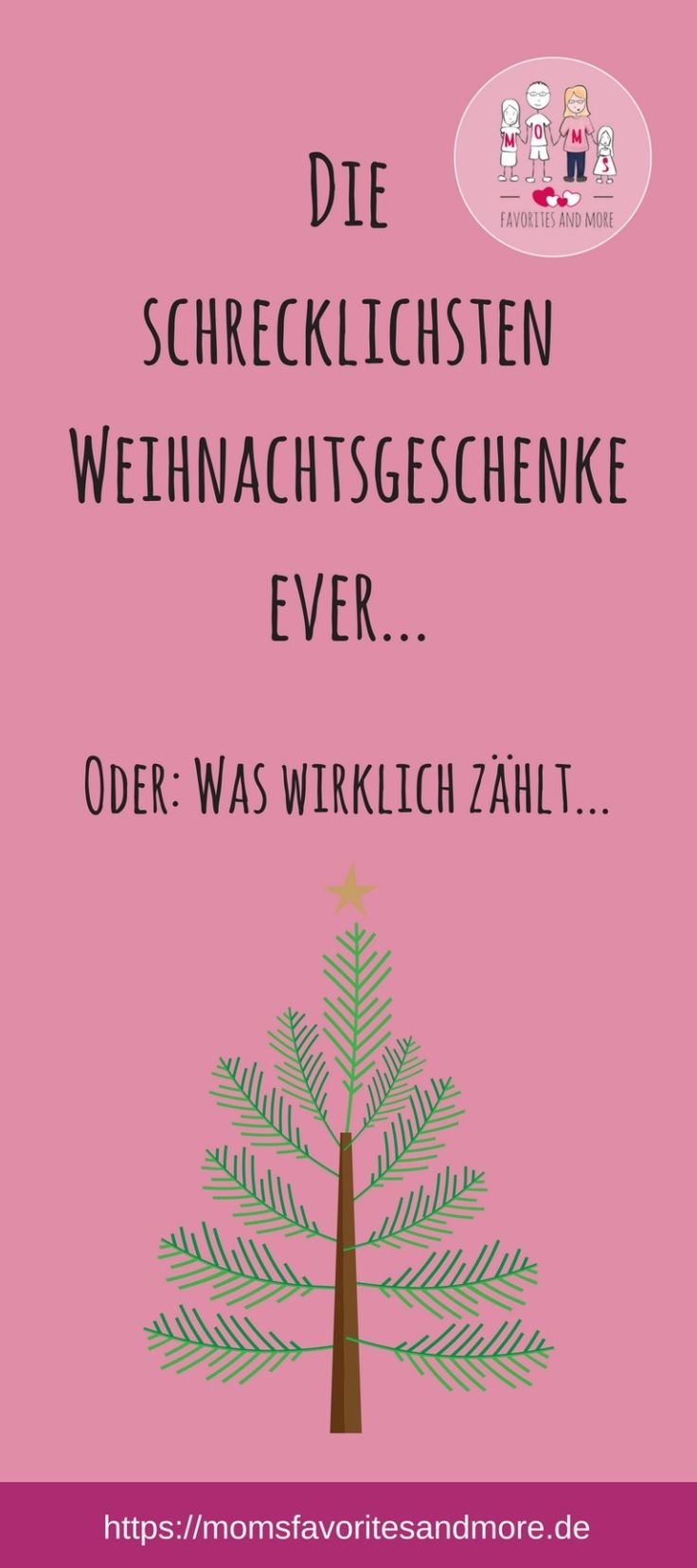 Weihnachten ist das Fest der Liebe. Wir sollten das Miteinander und die gemeinsame Zeit genießen. All unseren Lieben schenken wir meist etwas als Zeichen unserer Liebe, doch nicht immer sind da die Dinge, die wir gerne mögen. Doch denkt daran: Die Geste zählt!
