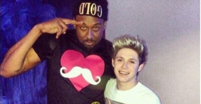 Niall Horan en el estudio de grabación con Miley Cyrus [+FOTO]
