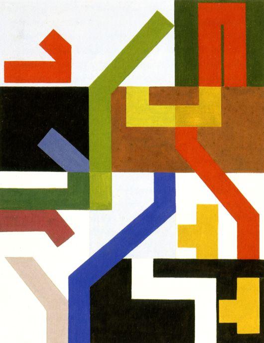 Sophie-Tauber-Arp-Twelve-Planar-Spaces-and-Angular-Bands-1938 -