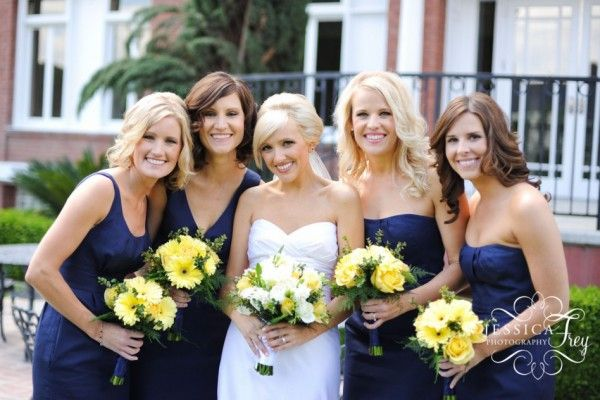 Dark Blue And Yellow Wedding: 24 Best Blue, Yellow And Grey Wedding Images On Pinterest