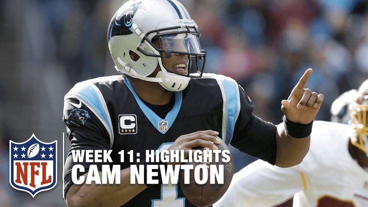 Cam Newton Highlights (Week 11)