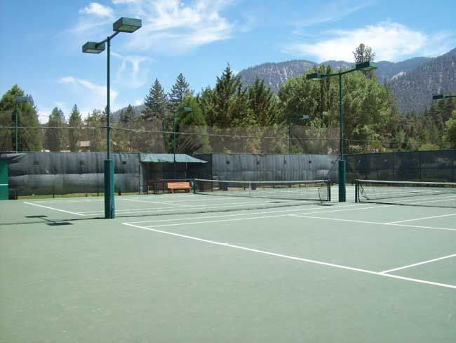 Tennis Courts – Pine Mountain Club