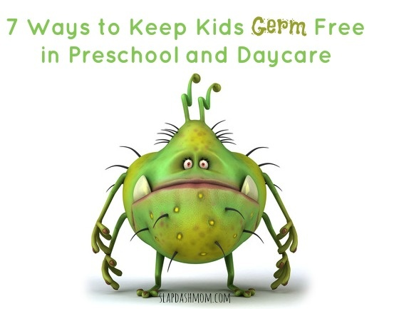 7 Ways to Keep Kids Germ Free in Preschool and Daycare