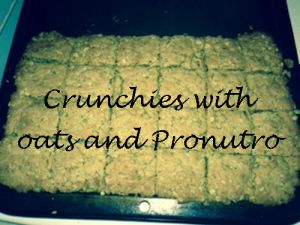 Pumpkin Fritters and Crunchies with Oats and Pronutro