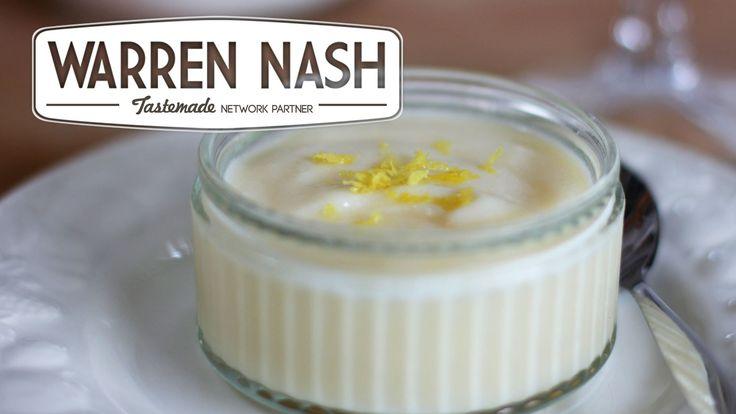 Tefal Cuisine Companion Recipes – Lemon Crème Dessert - Recipes by Warren Nash