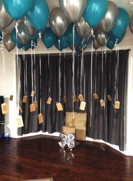 Trendy Birthday Surprise Balloons Boyfriend Ideas