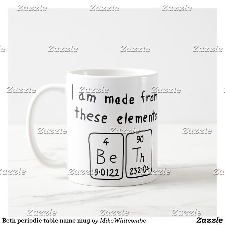 58 best t shirts images on pinterest t shirts tee shirts and tees beth periodic table name mug urtaz Choice Image
