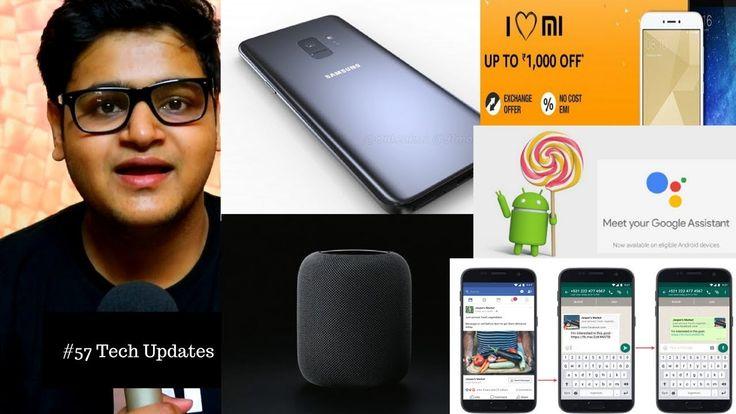 Samsung Galaxy S9, S9+, iMac Pro India, Samsung Bixby Speakers, I Love M...