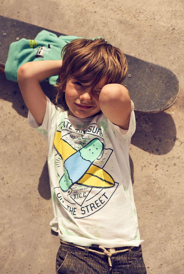 Summer Collection Boy Kids Editorials Zara United