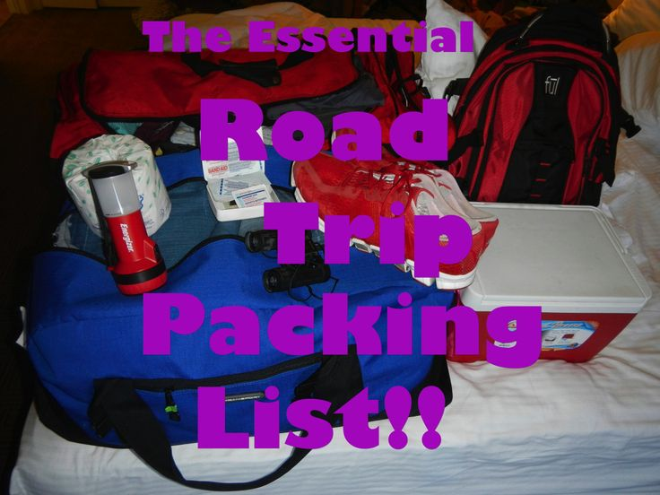 A list of essential items for every road tripper! http://www.theconstantrambler.com/trip-planning-packing-list-road-trip/