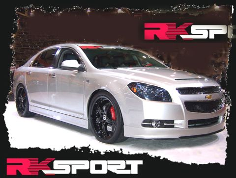 2013 Chevy Malibu Body Kit | 2008-2012 Chevy Malibu 4dr RKS Poly Urethane Body Kit w/ Filler