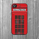 Telephone box iPhone case