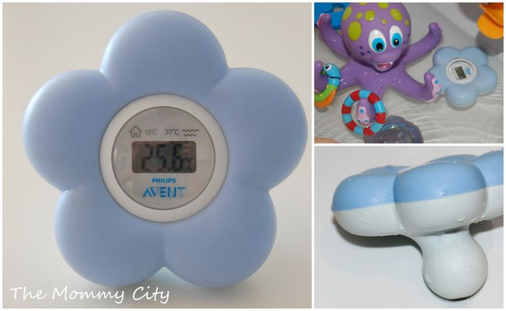 Philips Avent baby and bath thermometer : The Mommy City