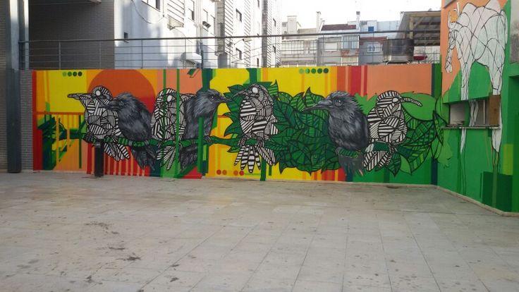 Street art at Lisbon