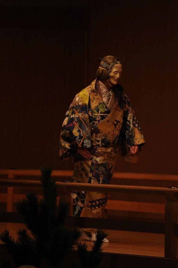 Noh performance九皐会_別会_山姥_ (169)