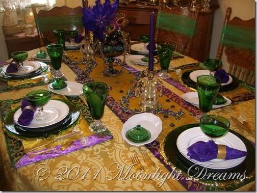 mardi gras themed tables.Gras Parties, Gras Inspiration, Gras Tables, Southern Tables, Parts Tablescapes, Parties Ideas, Bday Parties, Mardi Gras, Gras Theme