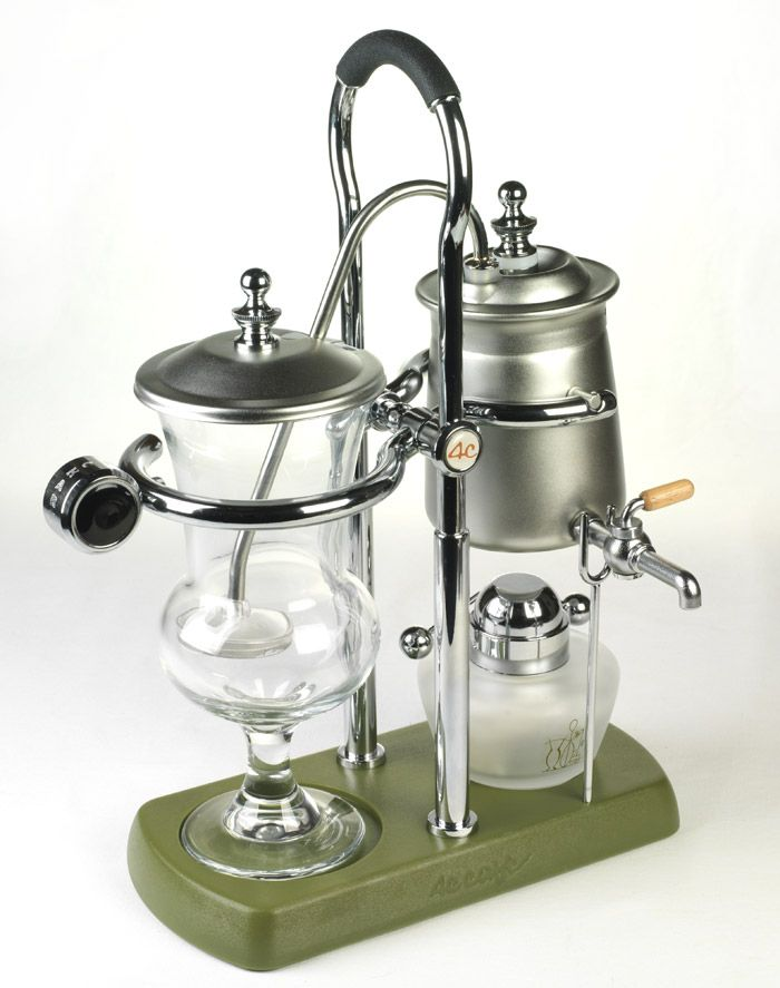 Vacuum Coffee Maker Metal : 17 Best ideas about Vacuum Coffee Maker on Pinterest Cofee machine, Percolator coffee maker ...